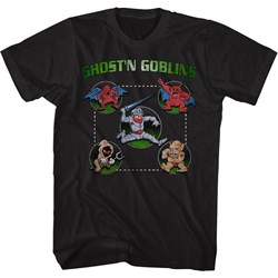 Ghost'N Goblins - Mens Full Circle T-Shirt