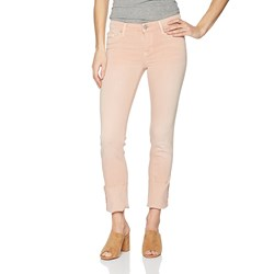 Hudson - Womens Tally Deep Cuff Cropped Skinny Jeans