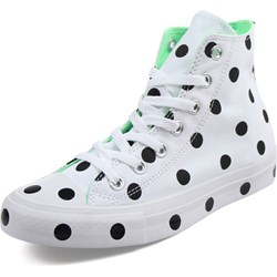 Converse - Womens Chuck Taylor All Star Polka Dots High Top Shoes
