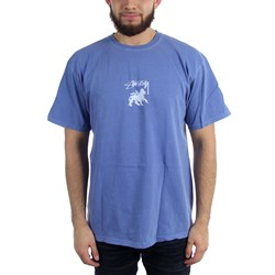 Stussy Mens Stock Lion Pig. Dyed T-Shirt