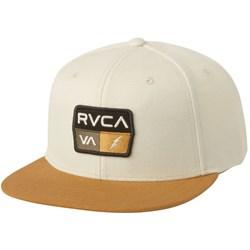 RVCA Mens 9Volt Snapback Hat