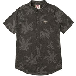 RVCA Mens Ar Hawaiian Short Buttondown