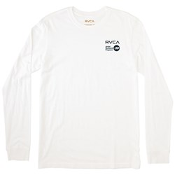 RVCA Mens Fire Dance Long T-Shirt