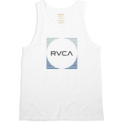 RVCA Mens Motorstripe Sleeveless T-Shirt