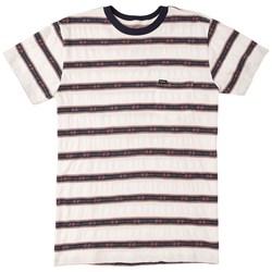 RVCA Mens Outer Sunset Knit Short Sleeve T-Shirt