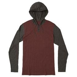 RVCA Mens Pick Up Knit Long sleeve Hoodie