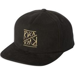 RVCA Boys Slant Box Snap Boys Hat