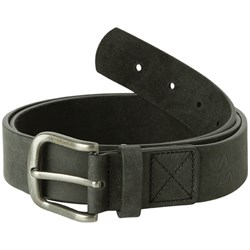 RVCA Mens Truce Leather Leather Belt