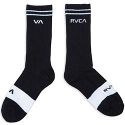 RVCA Mens Union Skate Crew Socks