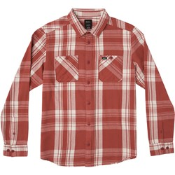 RVCA Mens Wanted Flannel Long Buttondown
