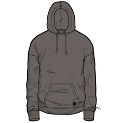 RVCA Mens Sprawlin Hood Hooded Pullover