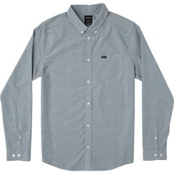RVCA Mens Thatll Do Stretch Long Buttondown