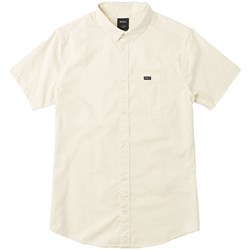 RVCA Mens That'Ll Do Stretch S Short Buttondown