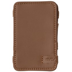 RVCA Mens Leather Magic Leather Wallet
