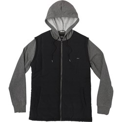RVCA Mens Logan Puffer Zip-Up Hoodie