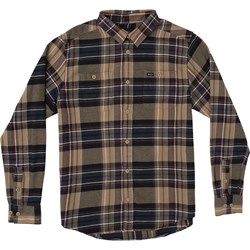 RVCA Mens Ludlow Flannel Long Buttondown
