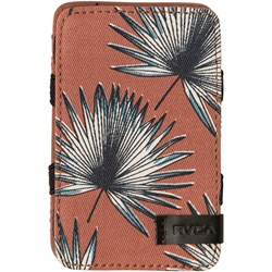 RVCA Mens Magic Palm Wallet