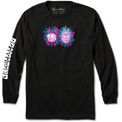 Primitive - Mens Dirty P Rick & Morty Long Sleeve T-Shirt