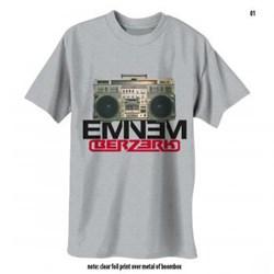 Eminem - Mens Boombox Berzerk T-Shirt