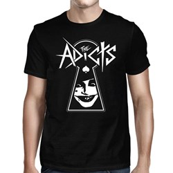 The Adicts - Mens Keyhole T-Shirt