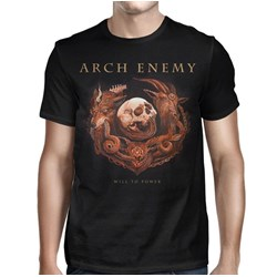 Arch Enemy - Mens Will To Power Album Cover T-Shirt