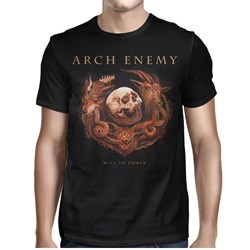 Arch Enemy - Mens Will To Power Tour-2017 T-shirt