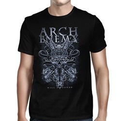 Arch Enemy - Mens Skull Bat T-Shirt