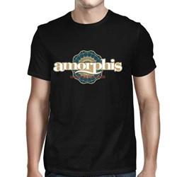 Amorphis - Mens Red Cloud Sun T-Shirt