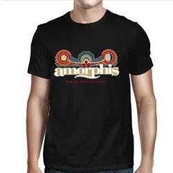 Amorphis - Mens Sun Moon Logo T-Shirt