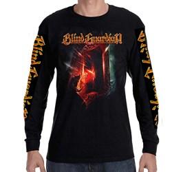 Blind Guardian - Mens Demon 2015 Tour Dates Longsleeve T-Shirt