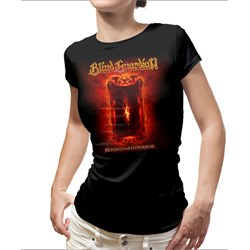 Blind Guardian - Womens Beyond the Red Mirror 2015 Tour Dates Ladies T-Shirt