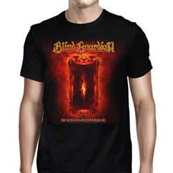 Blind Guardian - Mens Beyond the Red Mirror 2015 Tour Dates T-Shirt