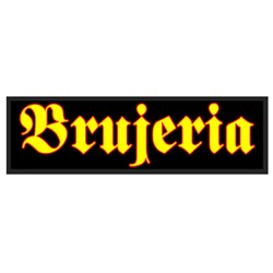 Brujeria - unisex-adult Yellow Brujeria Woven Patch
