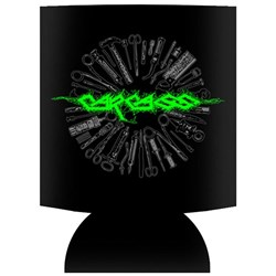 Carcass - unisex-adult Green Logo Koozie