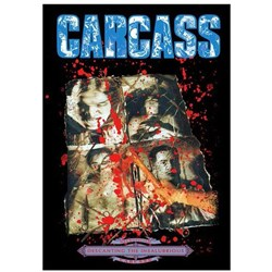 Carcass - unisex-adult Necroticism Poster Flag