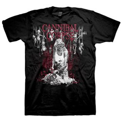 Cannibal Corpse - Butcher  Mens T-Shirt In Black