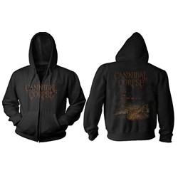 Cannibal Corpse - Mens Skeletal Domain Zip Hoodie