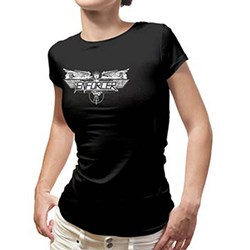 Enforcer - Womens Logo Ladies T-Shirt