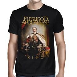 Fleshgod Apocalypse - Mens King Cover T-Shirt
