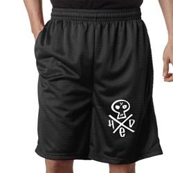Hed Pe - Mens Hed Pe Skull Logo Basketball Shorts