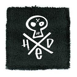 Hed PE - unisex-adult Embroidered Skull Wristband