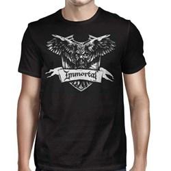 Immortal - Mens Crest T-Shirt