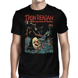 Iron Reagan - Mens Grinding Nuns T-shirt
