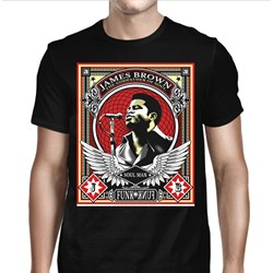 James Brown - Mens The Godfather of Soul T-shirt