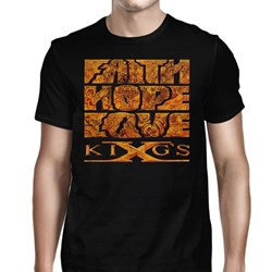 King's X - Mens Faith Hope Love T-Shirt