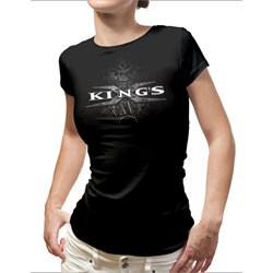 King's X - Womens First Church Logo Ladies T-Shirt