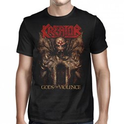 Kreator - Mens Gods of Violence US 2017 Tour T-Shirt
