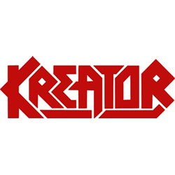 Kreator - unisex-adult Red Logo Window Sticker