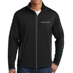 Meshuggah - Mens Embroidered Track Jacket