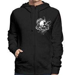 Meshuggah - Mens Head Logo Zip Hoodie